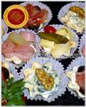 Tarteletas Surtidas - Maria Franco - Servicio de Lunch, Catering y Reposteria