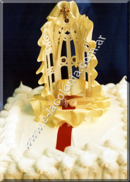 Torta Altar Comunion - Maria Franco
