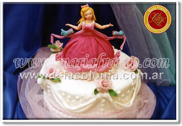 Torta Princesa - Maria Franco