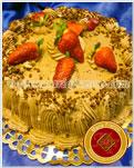 Torta de Mousse de Chocolate, Crema Chantilli y frutillas - Maria Franco - Servicios de lunch, Catering & Reposteria