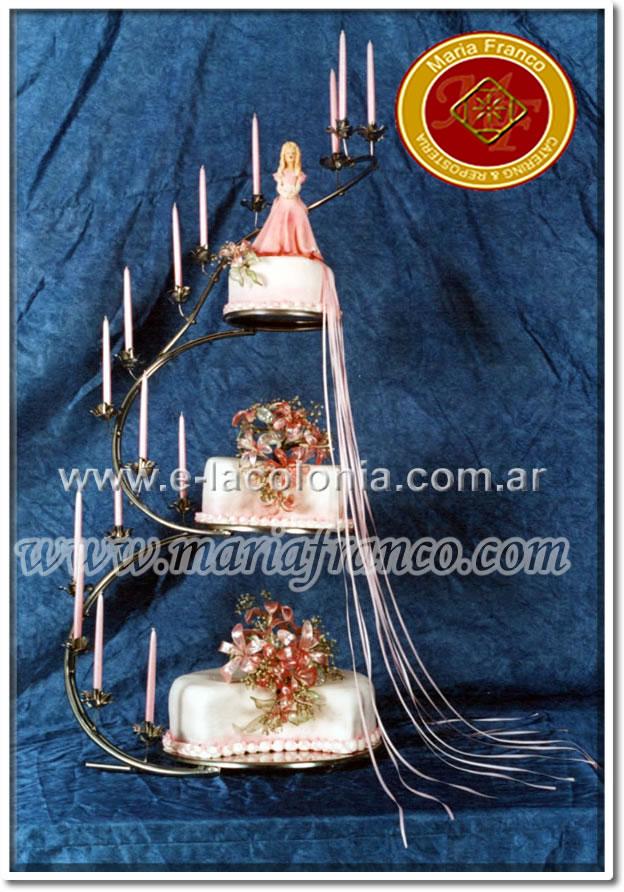 Torta Mis Quince Años - Maria Franco