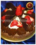 Torta Brownie, Crema, dulce de leche, Frutilla - Maria franco - Servicio de Lunch, Catering, reposteria, Productos de Lunch