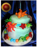 Torta Infantil Acuario - Maria Franco - www.mariafranco.com.ar - Reposteria Artesanal, Tortas alegoricas, Pasteleria Artesanal, Servicios de Lunch, Productos de Lunch, Catering, Calentitos, Huevos de Pascua, Cajas de Navidad