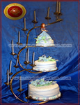 Torta de 15 Sueño Azul Tortas Alegoricas, Tortas de 15, diseños a elección - Tortas de Bodas - Tortas de 15 años - tortas de 18 años - Torta de Comunion - Torta de Bautismo - tortas especiales - tortas de Aniversario