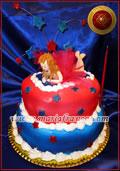 Torta Bailarina - Especialidad en tortas decoradas, Tortas alegoricas, reposteria Artistica, Pasteleria Artesanal - Chocolateria - Servicio de Lunch - www.mariafranco.com