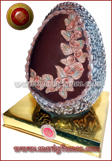 Huevo de Pascua de Autor - Diseños unicos e irrepetibles - Fabrica de huevos de pascua Artesanal - Huevos de Pascua Gigantes - Chocolateria