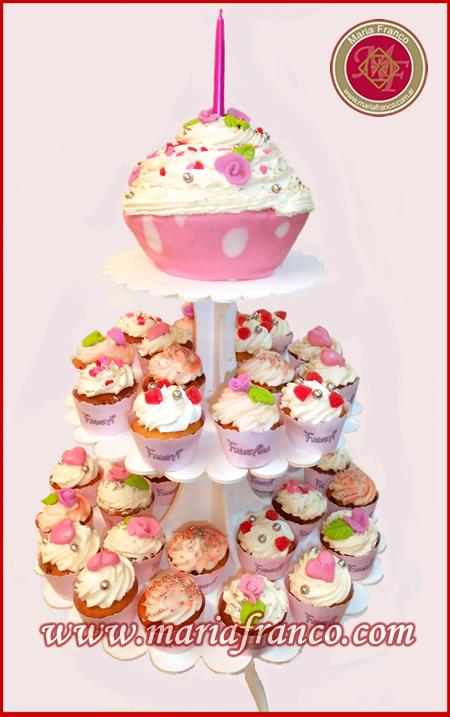 Torta de Cupcakes - Decoración de Tortas - Servicios de Lunch - Catering - Huevos de Pascua - Pan dulces - Reposteria Artesanal