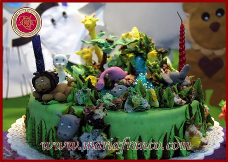 Torta de la Selva - Reposteria Artesanal - Pasteleria Artistica -Servicio de Lunch - Catering - Sandwich de miga